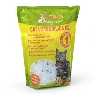 Cat Litter Fresh CAT - Силиконова котешка тоалетна - 3,6 литра