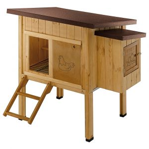Ferplast HEN HOUSE 10 - дървена къща за дворни птици