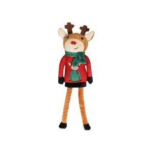 Pet Brands - Коледен Елен с въже, 40 см