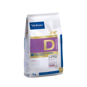 Virbac Dermatology Support - Диетична храна за котки с дерматологични проблеми - 3 кг