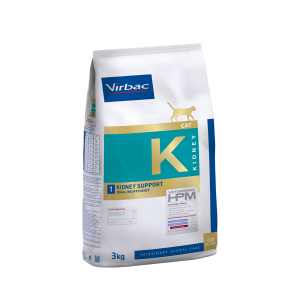Virbac Kidney Support - Диетична храна за котки с бъбречна недостатъчност - 1.5 кг