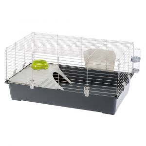 Ferplast  Rabbit 100 - Оборудвана клетка за зайци и морски свинчета,  95х57х46 см