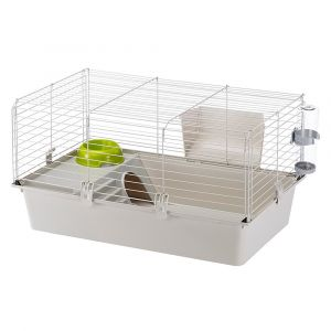 Ferplast Rabbit / Cavie 80 - Клетка за морски свинчета, оборудвана, 77 x 48 x h 42 см