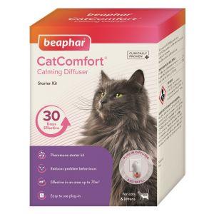 Beaphar Cat Comfort Diffuser - дифузер с ел.захранване, с включен спрей с феромони 48 мл.
