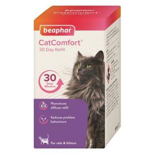 Beaphar Cat Comfort Calming spray - резервен спрей с феромони за дифузер, 48 мл