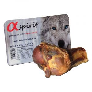 Alpha Spirit Half Ham Bone - Пушена кост с месо, малка