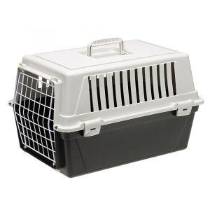 Транспортна клетка за кучета и котки Ferplast Atlas 10 El - Сива