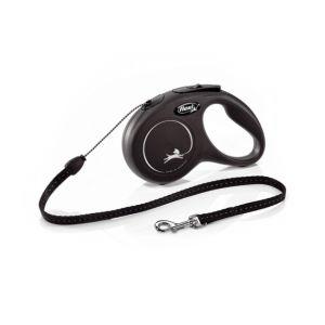 Flexi Classic M Cord 5 m - автоматичен повод за кучета - въже 5 м, до 20 кг, различни цветове