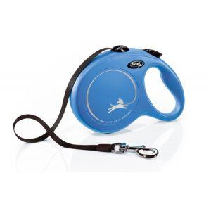 Flexi Classic L Tape 8 m - автоматичен повод за кучета - лента 8 м, до 50 кг, различни цветове