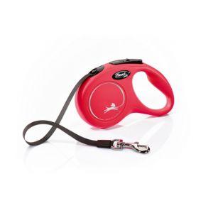 Flexi Classic S Tape 5 m - автоматичен повод за кучета - лента 5 м, до 15 кг, различни цветове