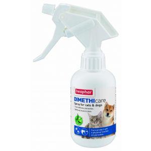 Beaphar Dimethicare Spray - спрей за кучета и котки против бълхи, кърлежи, комари, пясъчни мухи - 250 мл.