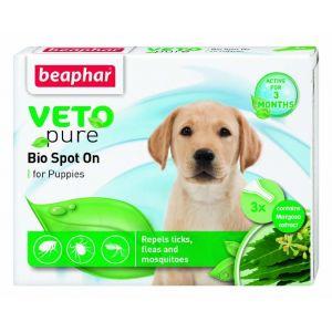 Beaphar Veto Pure Bio Spot On Puppy - репелентни капки за малки кученца