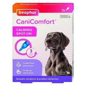 Beaphar Cani Comfort Calming Spot On - успокояващи капки с феромони за кучета