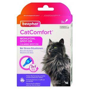 Beaphar Cat Comfort Calming Spot On - успокояващи капки с феромони за котки