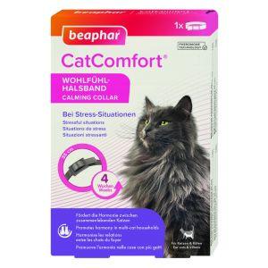 Beaphar Cat Comfort Calming Collar - успокояващ нашийник с феромони за котки