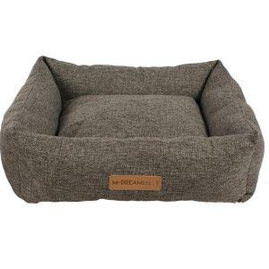 M-Pets OLERON Basket - меко легло за кучета и котки , кафяво, S - 55 / 50 см