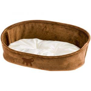 LASKA 45  - легло за куче и коте - кафяв и сив
