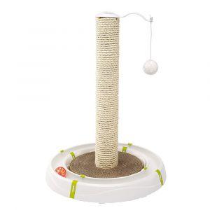 MAGIC TOWER - Нова играчка за котки, комбинирана с драскалка