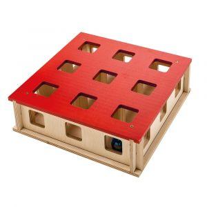 MAGIC BOX - Нова играчка за котки, дървен лабиринт