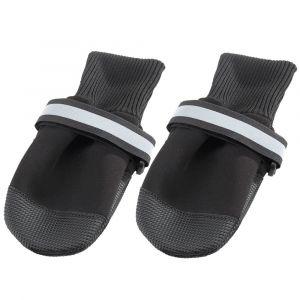 DOG SHOES MEDIUM BLACK(х2) ferplast- чорап - обувка за кучета