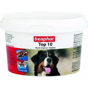 Beaphar TOP 10 - Мултивитамини с L-carnitine за кучета -750 таб.