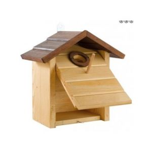 NATURA N6 NEST - дървена къща за птици