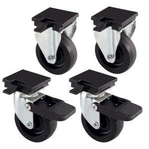 Колела за транспортна клетка - Ferplast Wheels Kit L388B