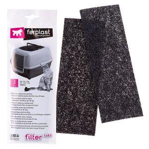 Карбонови филтри за котешка тоалетна - Ferplast L135