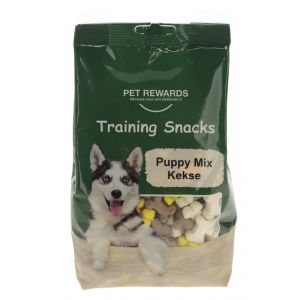 Kerbl Pet Rewards Biscuits Puppy Mix - Бисквитки за бебета кучета  2 см. Микс, 400 гр.