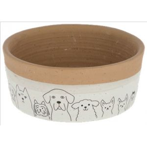 Kerbl Ceramic Bowl Hungry - Керамична купа