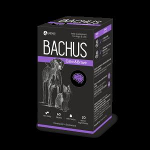 BACHUS CALM & BRAVE - 60 таб. успокояващ ефект, спомагащ за преодоляване на безпокойството