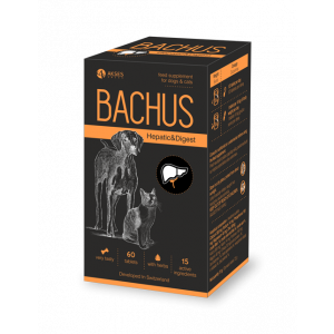 BACHUS HEPATIC & DIGEST - 60 таб. -  за неутрализирането на токсини