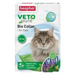 Beaphar Veto Pure Bio Collar for Cats - репелентен нашийник за котка със срок на действие 3 месеца