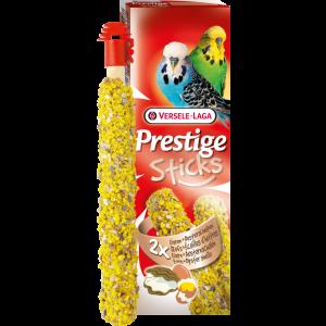 Versele-Laga Stick Budgies Eggs & Oyster shells 2 бр х 30 гр - Стикове за вълнисти папагали с яйца и черупки от стриди 60 гр