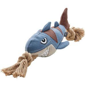 Hunter Canvas Sansibar Rantum - Кучешка играчка Акула , 39 см