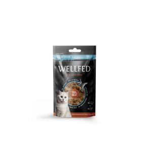 Pet Interest  WELLFED FISH & CHICKEN 24 g - Висококачествени лакомства, приготвени от 100% прясно сурово месо.