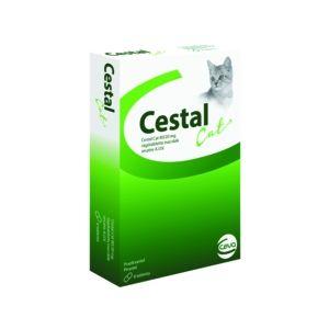 CESTAL CAT - овкусени таблетки за вътрешно обезпаразитяване на котки