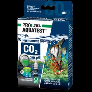 JBL PROAQUATEST CO2-pH Permanent - Постоянен тест за измерване на киселинността (pH) и съдържанието на въглероден диоксид (СО2) в сладководни аквариуми.