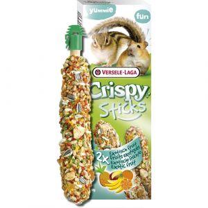 Versele-Laga Crispy Sticks Exotic Fruits - стикове за хамстери и катерици 110гр