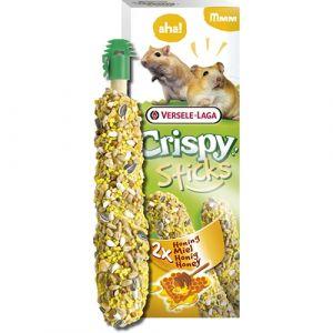 Versele-Laga Crispy Sticks Honey - стикове за хамстери и джербили 110гр