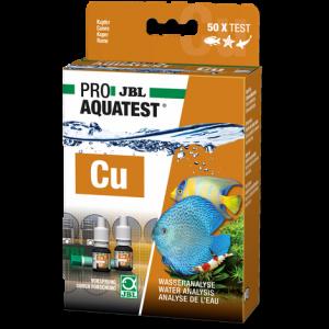 JBL PROAQUATEST Cu Copper - Бърз тест за измерване на съдържанието на мед (Cu) в сладководни и соленоводни аквариуми и езера