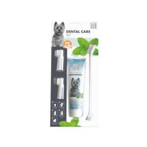 M-Pets Dental Care set - Комплект за почистване на зъби от 4 части