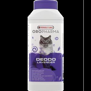 OROPHARMA DEODO LAVENDER  750 g - деозодорант на прах за котешка тоалетна с аромат на лавандула