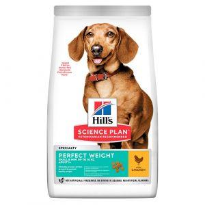 Hill's Science Plan Canine Adult Perfect Weight Small&Mini – За намаляване и поддържане на теглото при кучета от дребни породи (до 10кг) над 1 година - 250гр