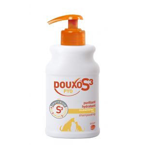 DOUXO S3 PYO шампоан 200ml - за възпалена кожа (с хлорхексидин)