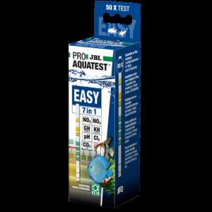 JBL PROAQUATEST EASY 7in1 - Бърз тест за измеране на 7 показателя на водата - 50 бр. тестови ленти