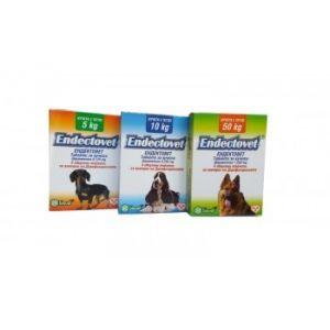 Endectovet / Ендектовет / - профилактика на дирофилариозата / за кучета с тегло до 50 кг. / кутия с 4 таблетки