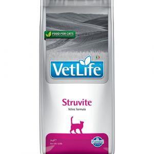 Farmina Vet Life Feline Struvite – пълноценна диетична храна за котки със струвитна уролитиаза и заболявания на долния уринарен тракт