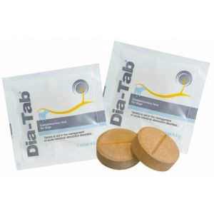 Dia Tab®  - спомагателни таблетки за третиране на остри чревни абсорбционни нарушения.