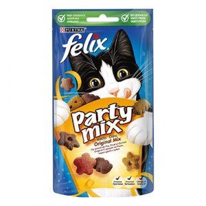 Felix Party Mix - Original mix - лакомство за котки Оригинален Микс 60 гр